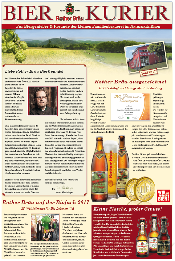 Bierkurier Ausgabe Juni 17