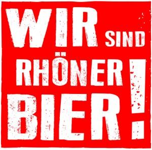 Wir sind Rhöner Bier - Brauereifarbe 07.02.14